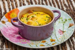 Photo de recette de clafoutis salé, carotte, petit pois, facile, ricotta de  Kilomètre-0, blog de cuisine réalisée à partir de produits locaux et issus de circuits courts