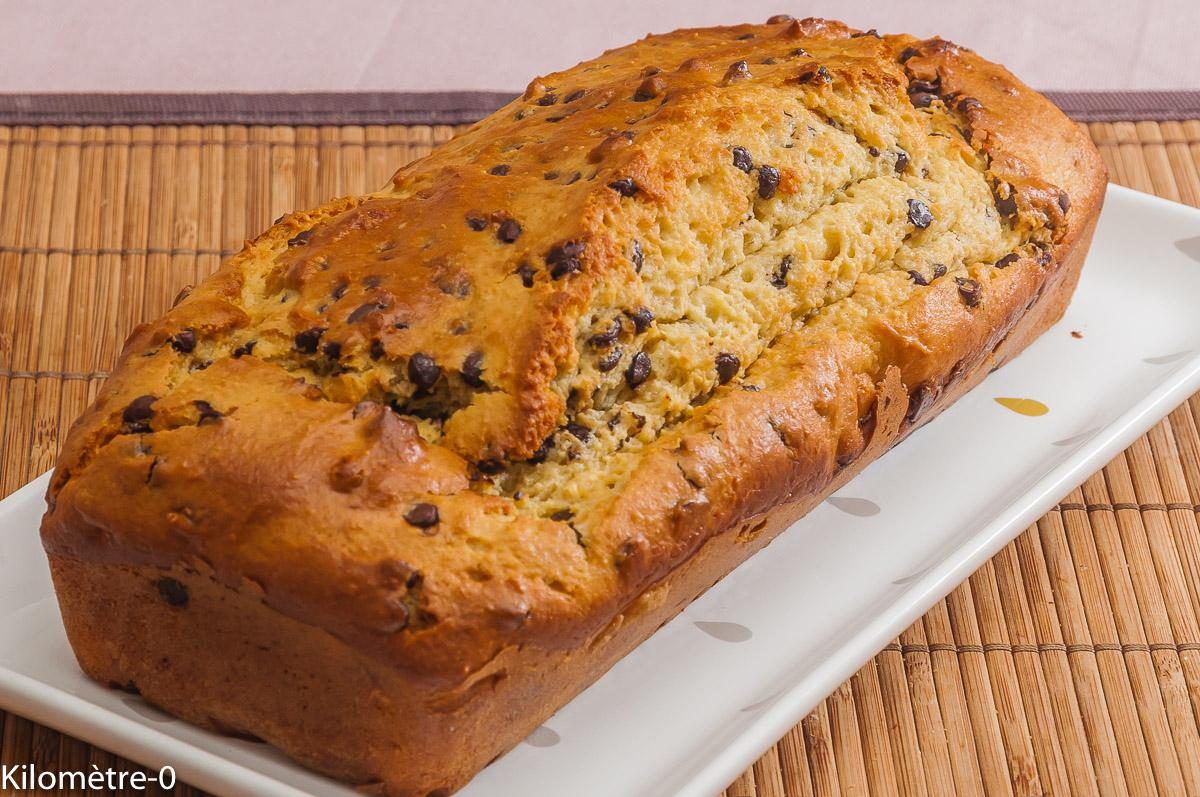 Photo de recette de cake ricotta, pepites de chocolat, facile, rapide, léger de  Kilomètre-0, blog de cuisine réalisée à partir de produits locaux et issus de circuits courts