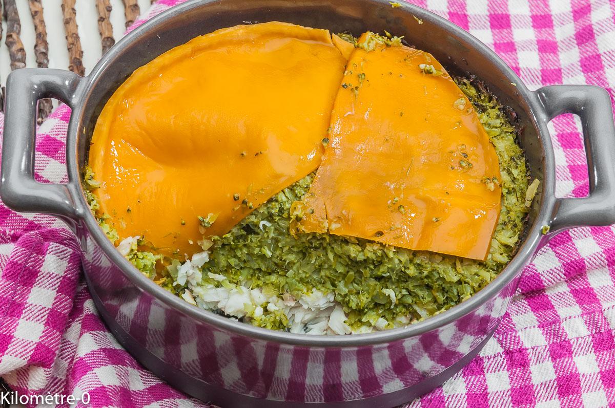 Photo de recette de gratin, merlu, brocolis, facile, léger, rapide, Kilomètre-0, blog de cuisine réalisée à partir de produits locaux et issus de circuits courts
