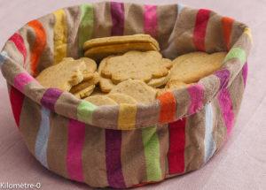 Photo de recette de sablés à la vanille, facile, léger, bio de Kilomètre-0, blog de cuisine réalisée à partir de produits locaux et issus de circuits courts