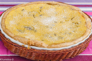 Photo de recette de gâteau crémeux au  kiwi, rhum, facile, rapide, léger, bio deKilomètre-0, blog de cuisine réalisée à partir de produits locaux et issus de circuits courts