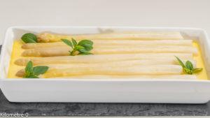 Photo de recette de flan d'asperges, bio, rapide, four vapeur,  Kilomètre-0, blog de cuisine réalisée à partir de produits locaux et issus de circuits courts