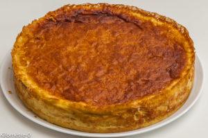 Photo de recette de flan pâtissier de Kilomètre-0, blog de cuisine réalisée à partir de produits locaux et issus de circuits courts