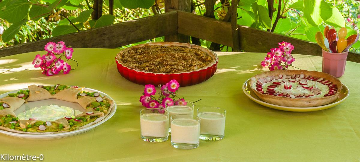 Photo de recette de buffet facile, panna cotta salé, asperges vertes, facile, bio, de Kilomètre-0, blog de cuisine réalisée à partir de produits locaux et issus de circuits courts