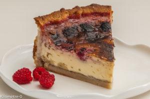Photo de recette de  flan maraichin, fraises, de Kilomètre-0, blog de cuisine réalisée à partir de produits locaux et issus de circuits courts