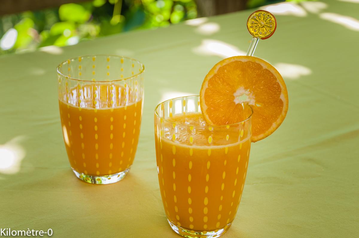 Photo de recette d'orangeade, boisson, cuisine marocaine, facile, rapide, léger de Kilomètre-0, blog de cuisine réalisée à partir de produits locaux et issus de circuits courts