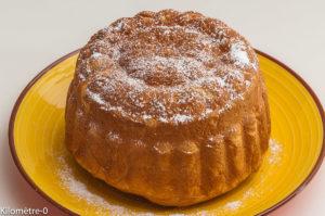 Photo de recette de brioche algérienne de Kilomètre-0, blog de cuisine réalisée à partir de produits locaux et issus de circuits courts