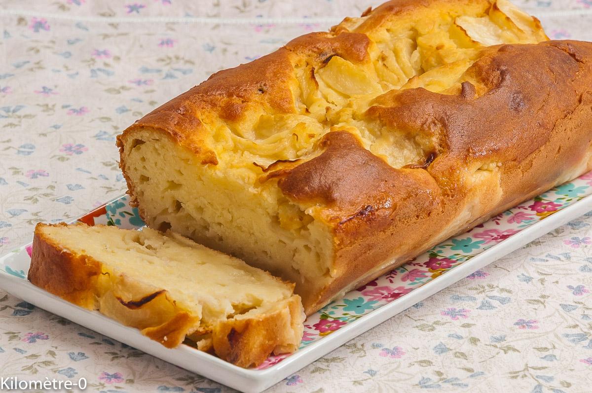 Photo de recette de gâteau, matin, pêches, facile, rapide, léger, bio de Kilomètre-0, blog de cuisine réalisée à partir de produits locaux et issus de circuits courts
