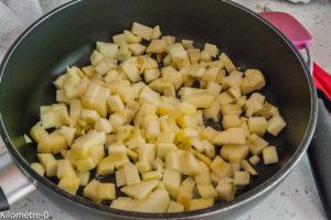 Photo de recette de pommes, bio de Kilomètre-0, blog de cuisine réalisée à partir de produits locaux et issus de circuits courts