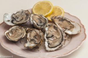Photo de recette, comment bien choisir les huîtres, huitres  de Kilomètre-0, blog de cuisine réalisée à partir de produits locaux et issus de circuits courts