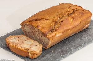 Photo de recette de gâteau poires, marron, facile de Kilomètre-0, blog de cuisine réalisée à partir de produits locaux et issus de circuits courts