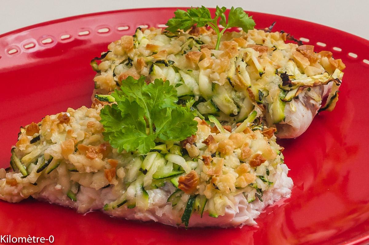 Photo de recette de merlu, courgettes, pecorino  de Kilomètre-0, blog de cuisine réalisée à partir de produits locaux et issus de circuits courts