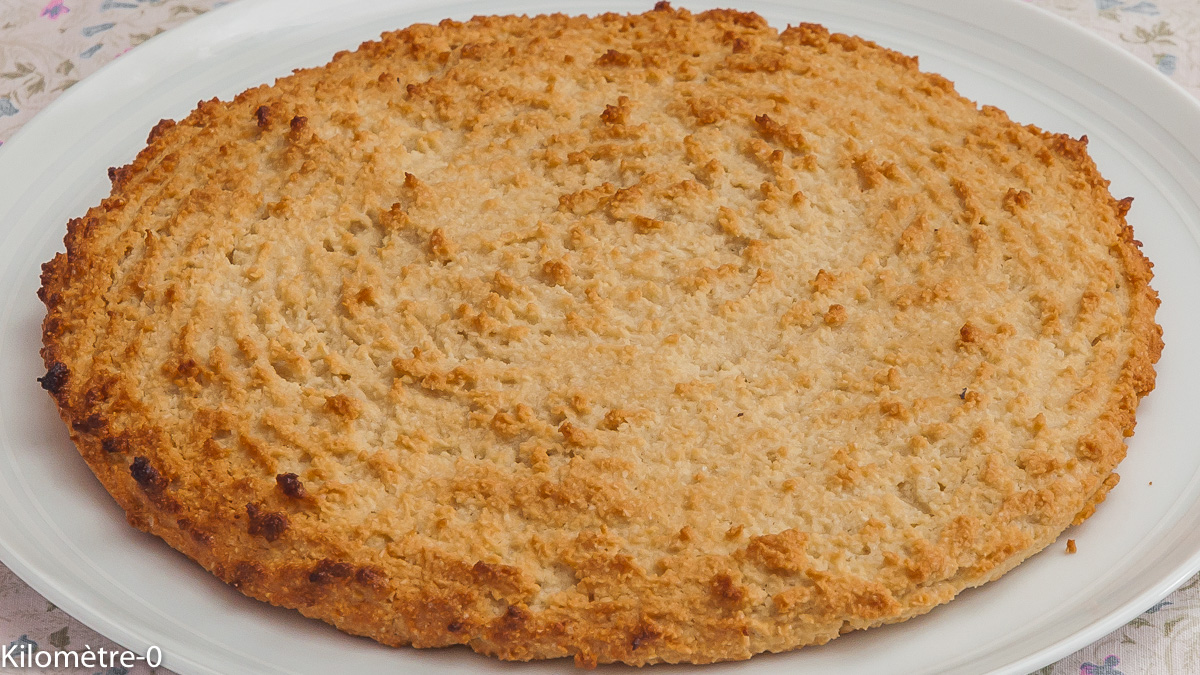 Photo de recette de macaroné du Poitou, amandes, gâteau, facile, rapide, blanc d'oeufs de Kilomètre-0, blog de cuisine réalisée à partir de produits locaux et issus de circuits courts