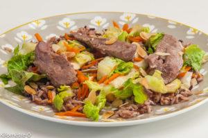 Photo de recette de canard, soja, riz, facile, rapide de Kilomètre-0, blog de cuisine réalisée à partir de produits locaux et issus de circuits courts