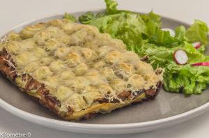 Photo de recette de ravioles, cèpes, fromage, jambon, facile, rapide de Kilomètre-0, blog de cuisine réalisée à partir de produits locaux et issus de circuits courts