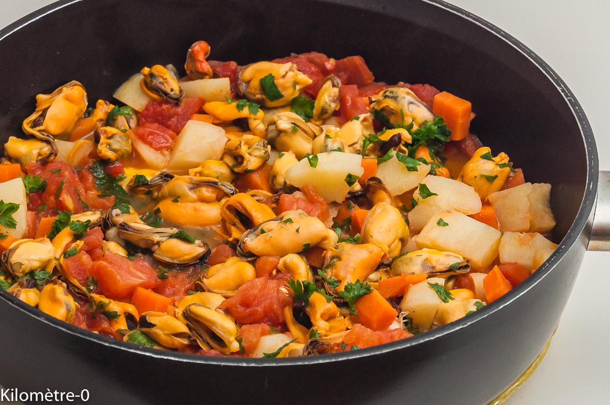 Photo de recette de pilaki, moules, cuisine turque, cuisine du monde, Istanbul, bio de  Kilomètre-0, blog de cuisine réalisée à partir de produits locaux et issus de circuits courts