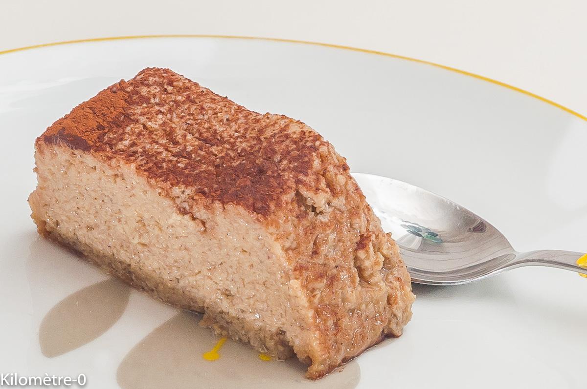 Photo de recette de  flan bio , châtaignes de Kilomètre-0, blog de cuisine réalisée à partir de produits locaux et issus de circuits courts