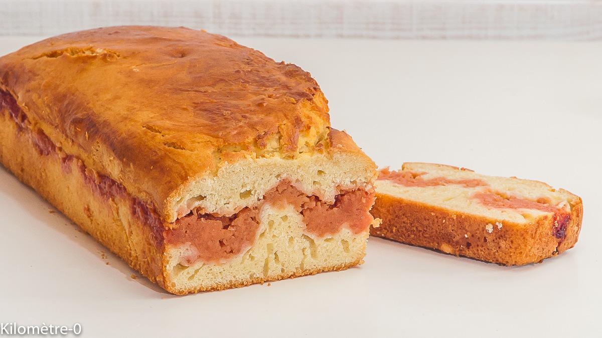 Photo de recette de cake, confit, coing, bio d eKilomètre-0, blog de cuisine réalisée à partir de produits locaux et issus de circuits courts