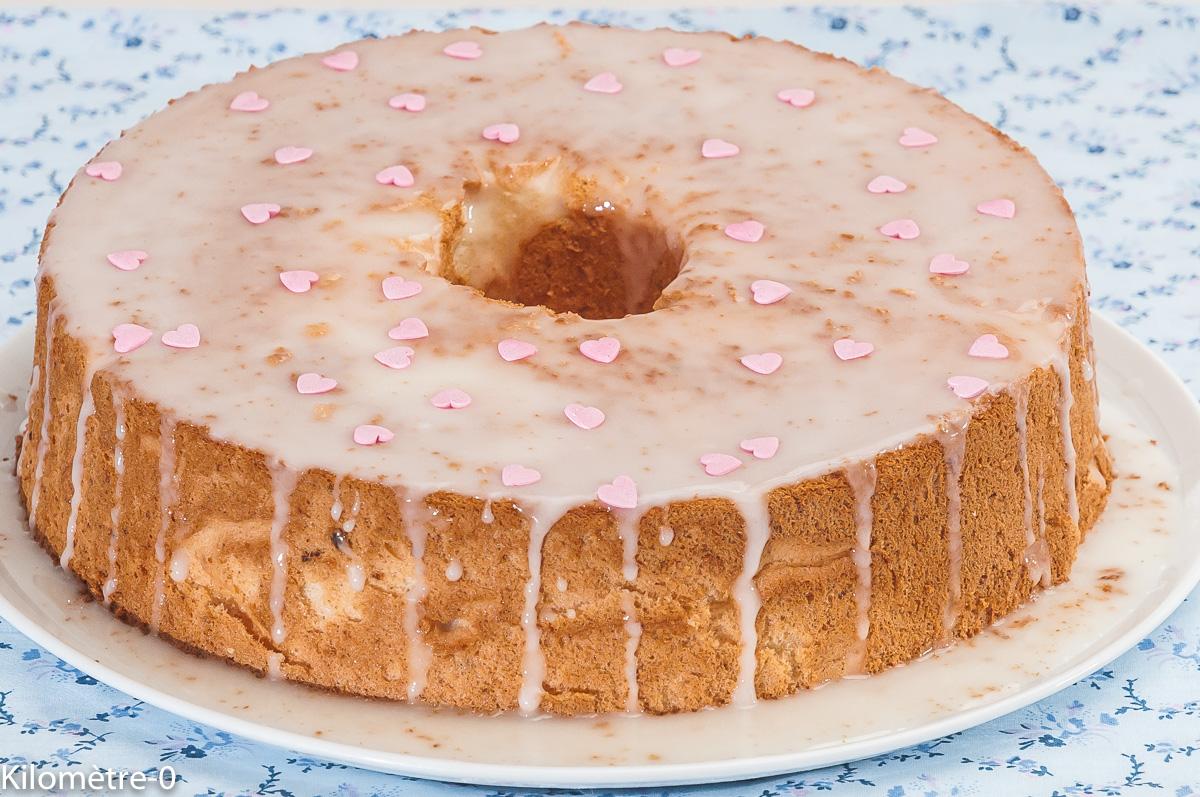 Photo de recette de  angel cake, citron, Kilomètre-0, blog de cuisine réalisée à partir de produits locaux et issus de circuits courts