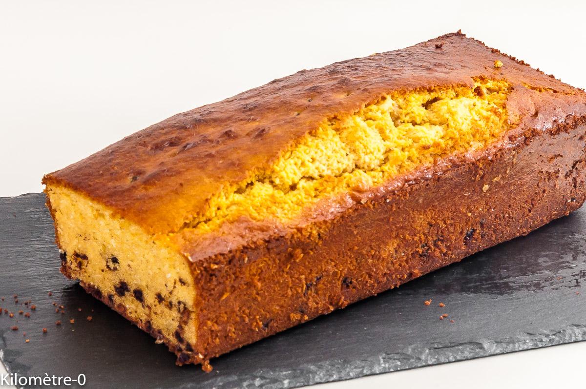 Photo de recette de cake au lait concentré, noix de coco, chocolat, bio de Kilomètre-0, blog de cuisine réalisée à partir de produits locaux et issus de circuits courts