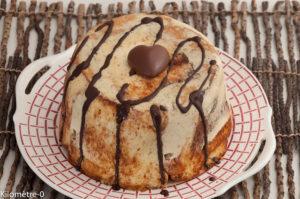 Photo de recette de charlotte aux pommes, chocolat, brioche de Kilomètre-0, blog de cuisine réalisée à partir de produits locaux et issus de circuits courts