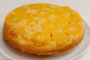 Photo de recette de gâteau à l'orange, cointreau de Kilomètre-0, blog de cuisine réalisée à partir de produits locaux et issus de circuits courts