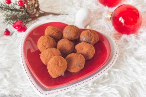 Photo de recette de truffes, chocolat, marrons de Kilomètre-0, blog de cuisine réalisée à partir de produits locaux et issus de circuits courts