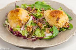 Photo de recette de poire, parmesan salade, de Kilomètre-0, blog de cuisine réalisée à partir de produits locaux et issus de circuits courts