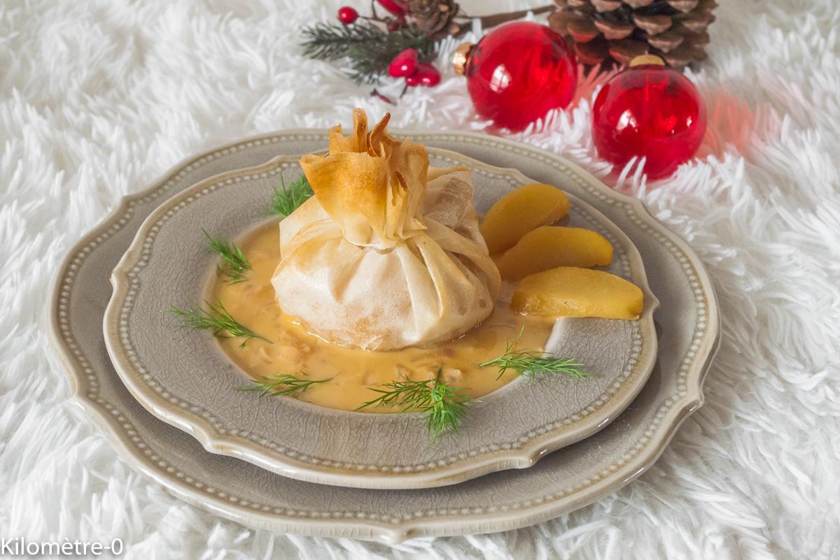 Photo de recette de brik, boudin blanc, pomme, cidre,  Kilomètre-0, blog de cuisine réalisée à partir de produits locaux et issus de circuits courts