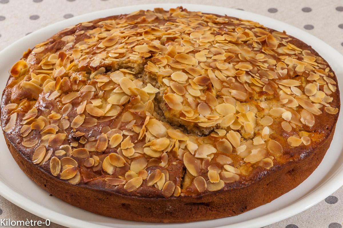 Photo de recette de gâteau des Carmélites de Séville de Kilomètre-0, blog de cuisine réalisée à partir de produits locaux et issus de circuits courts