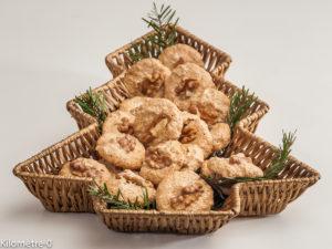 Photo de recette de craquants aux noix, Noël, biscuits, gâteaux alsaciens de Kilomètre-0, blog de cuisine réalisée à partir de produits locaux et issus de circuits courts