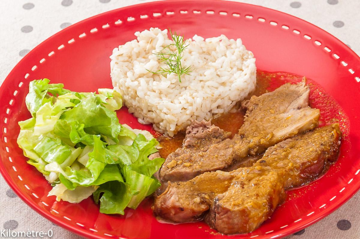 Photo de recette de palette de porc, jambon de Noël, marinade, de Kilomètre-0, blog de cuisine réalisée à partir de produits locaux et issus de circuits courts