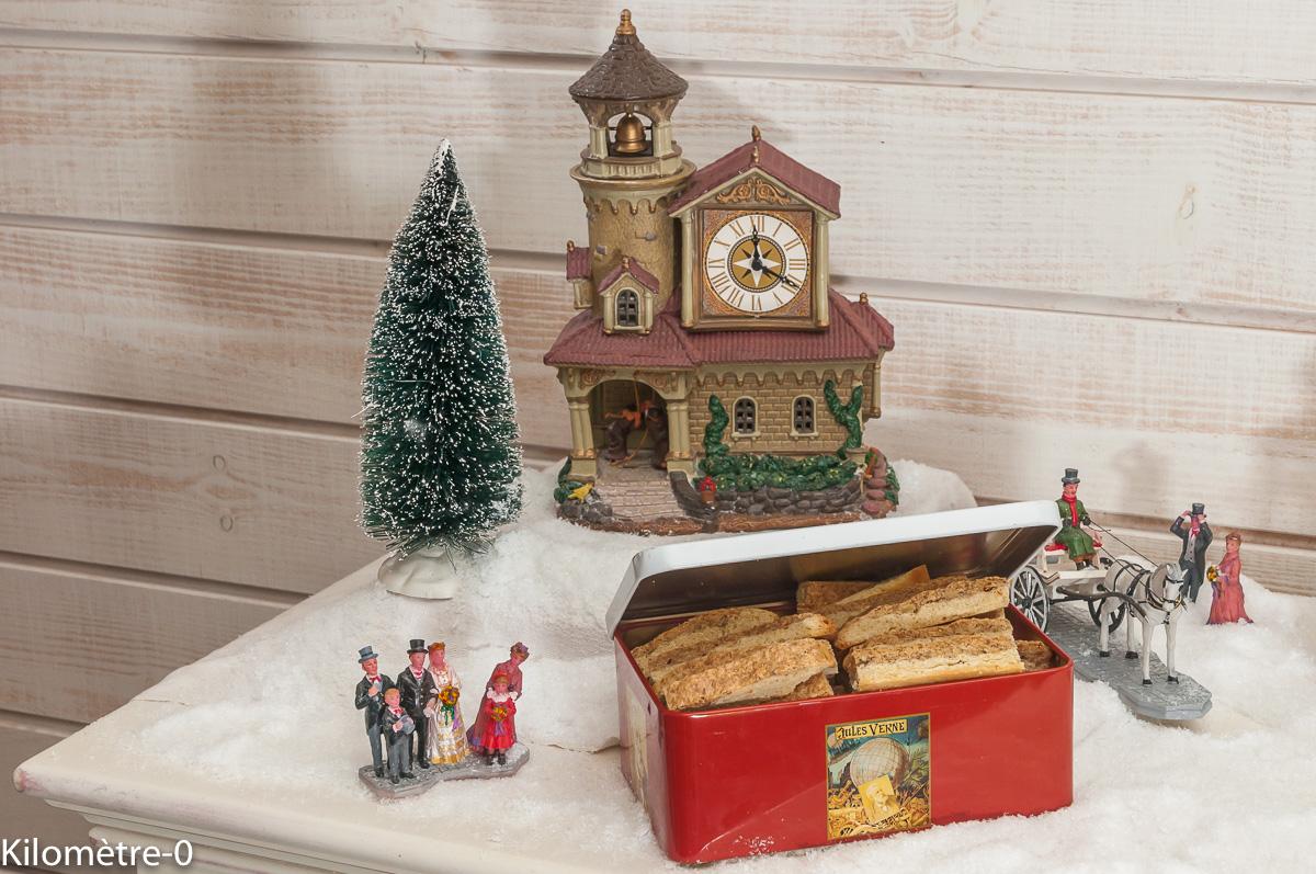 Photo de recette de biscuits alsaciens de Noël de Kilomètre-0, blog de cuisine réalisée à partir de produits locaux et issus de circuits courts