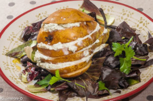 Photo de recette de poire, fourme d'Ambert, bleu, facile, tartine de Kilomètre-0, blog de cuisine réalisée à partir de produits locaux et issus de circuits courts