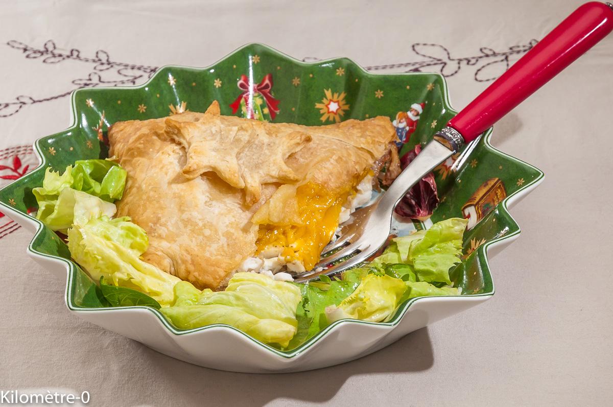 Photo de recette de feuileté de bar, mangue, facile, rapide de  Kilomètre-0, blog de cuisine réalisée à partir de produits locaux et issus de circuits courts