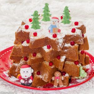 Photo de recette de pandoro de Noël, enfant, Kilomètre-0, blog de cuisine réalisée à partir de produits locaux et issus de circuits courts