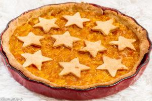 Photo de recette de tarte à l'orange de Kilomètre-0, blog de cuisine réalisée à partir de produits locaux et issus de circuits courtstarte
