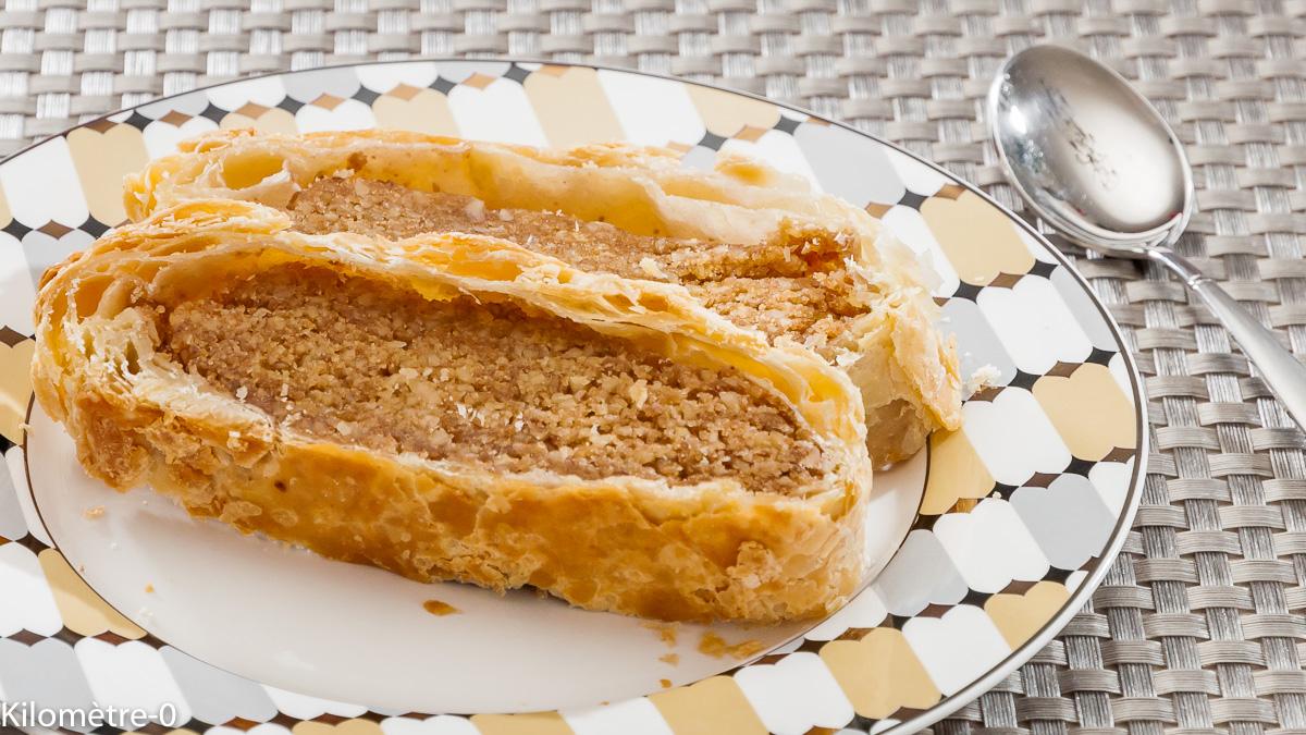 Photo de recette de feuilletés aux noix, facile de  Kilomètre-0, blog de cuisine réalisée à partir de produits locaux et issus de circuits courts