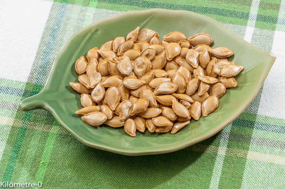 Photo de recette de graines maison, bio de Kilomètre-0, blog de cuisine réalisée à partir de produits locaux et issus de circuits courts