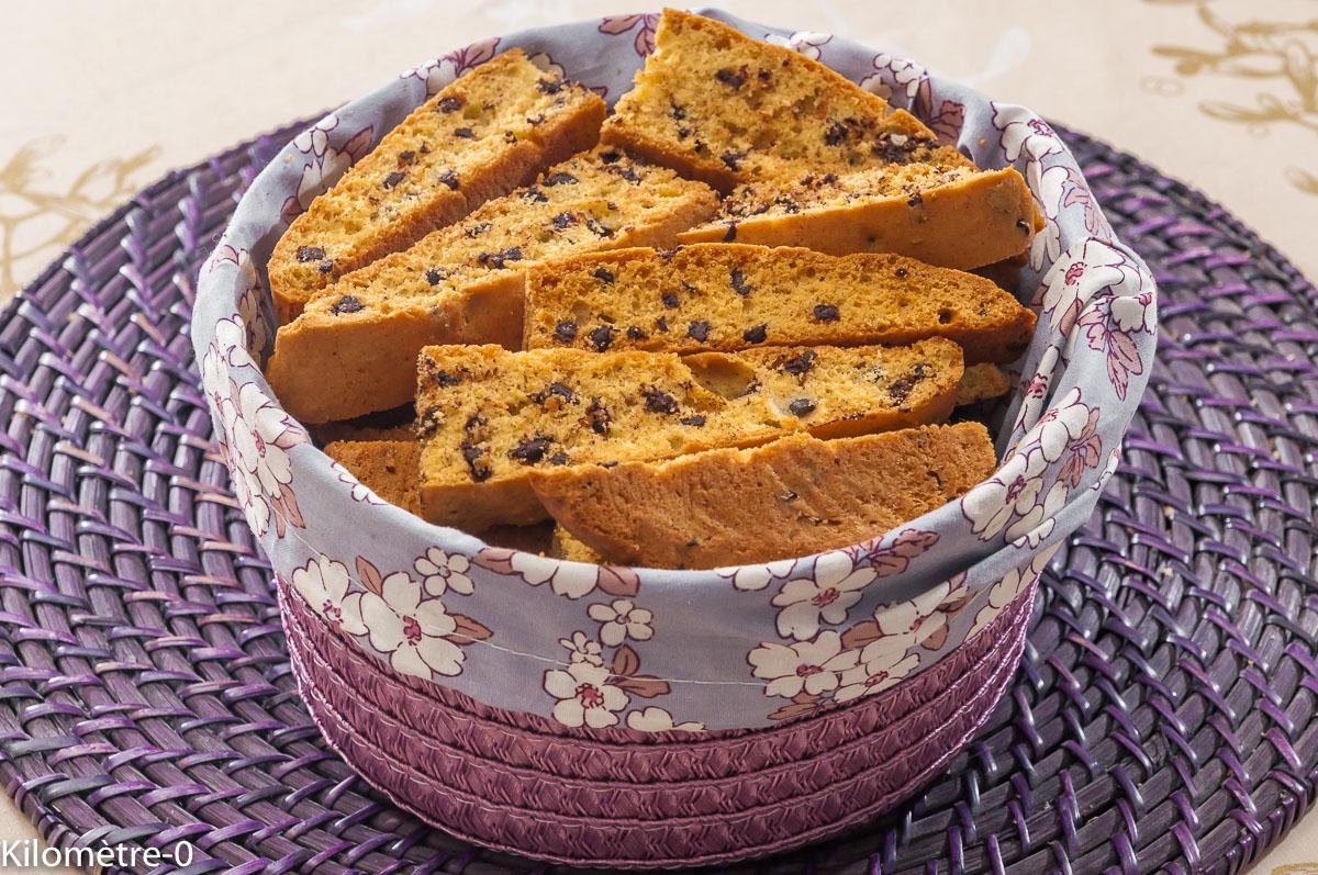 Photo de recette de biscotti, bio, facile, Kilomètre-0, blog de cuisine réalisée à partir de produits locaux et issus de circuits courts