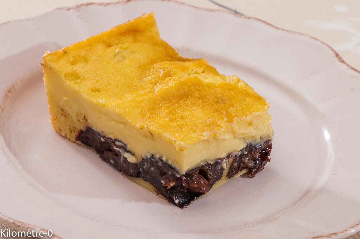 Photo de recette de cuisine bretonne, far, pruneaux de Kilomètre-0, blog de cuisine réalisée à partir de produits locaux et issus de circuits courts