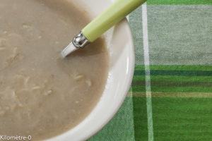 Photo de recette de soupe, velouté, crème d'artichauts de  Kilomètre-0, blog de cuisine réalisée à partir de produits locaux et issus de circuits courts