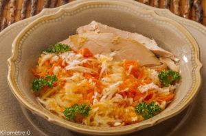 Photo de recette de salade, carotte, chou blanc, pintade, poulet de  Kilomètre-0, blog de cuisine réalisée à partir de produits locaux et issus de circuits courts