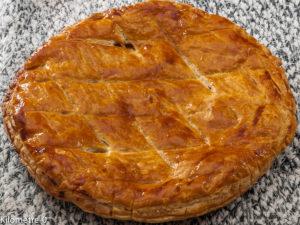 Photo de recette de  galette pommes cannelle de Kilomètre-0, blog de cuisine réalisée à partir de produits locaux et issus de circuits courts