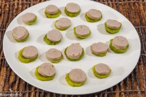 Photo de recette d'apéro facile, boudin blanc, kiwi, facile, rapide de Kilomètre-0, blog de cuisine réalisée à partir de produits locaux et issus de circuits courts