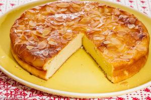 Photo de recette de gâteau à la ricotta, citron de Kilomètre-0, blog de cuisine réalisée à partir de produits locaux et issus de circuits courts