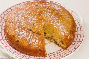 Photo de recette de gâteau, oranges, raisins, bio, dessert de Kilomètre-0, blog de cuisine réalisée à partir de produits locaux et issus de circuits courts