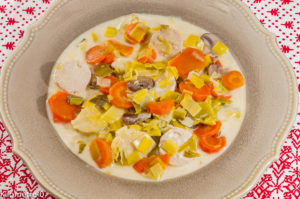Photo de recette de blanquette, facile, légère de Kilomètre-0, blog de cuisine réalisée à partir de produits locaux et issus de circuits courts