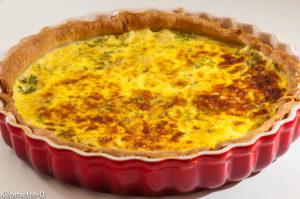 Photo de recette de quiche au thon de Kilomètre-0, blog de cuisine réalisée à partir de produits locaux et issus de circuits courts
