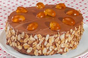 Photo de recette de gâteau, ricotta, chocolat, recette italienne, dessert,  Kilomètre-0, blog de cuisine réalisée à partir de produits locaux et issus de circuits courts